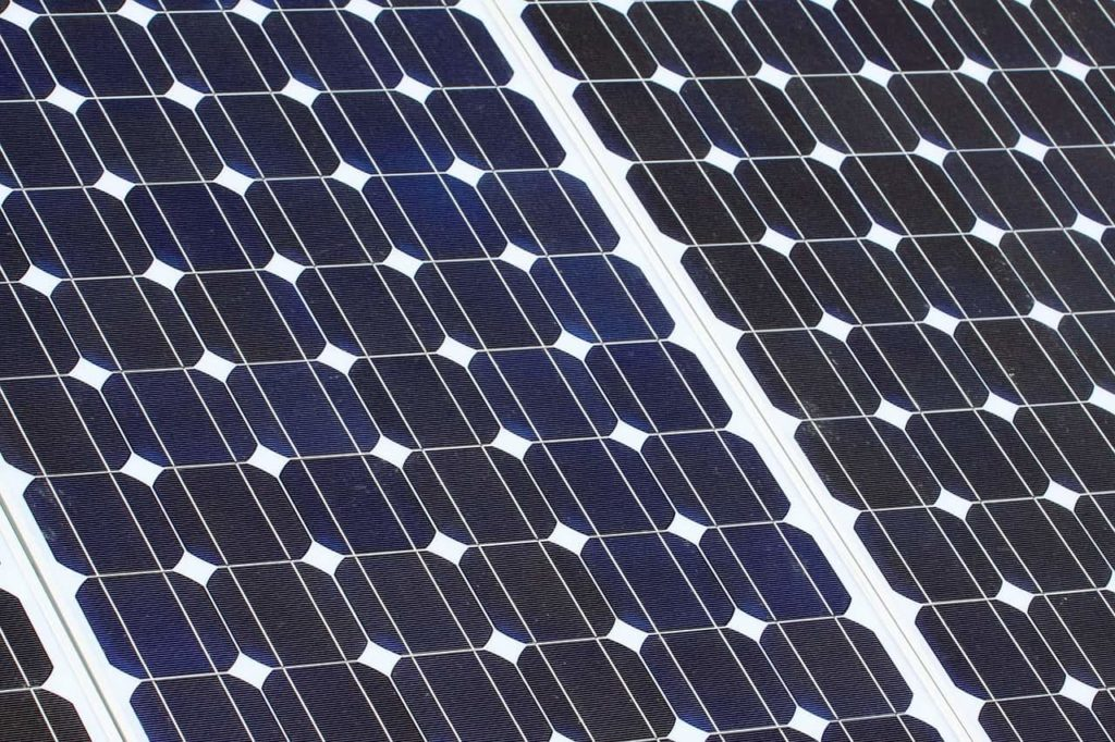 Monikristalline Solarzelle