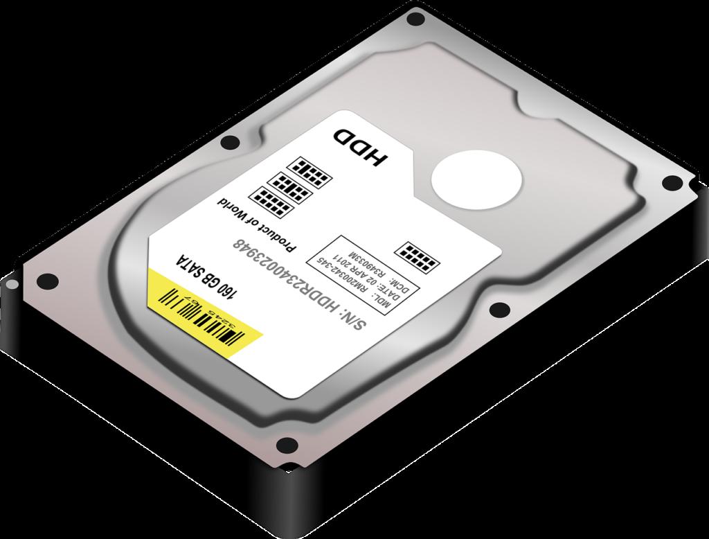 Big Data: Festplatte Speicher