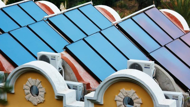 Solarthermie Anlage Titelbild
