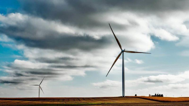 Wind Energie Windpark Titelbild