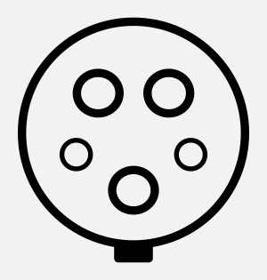 Elektroauto Tanksteller Typ 1 Stecker